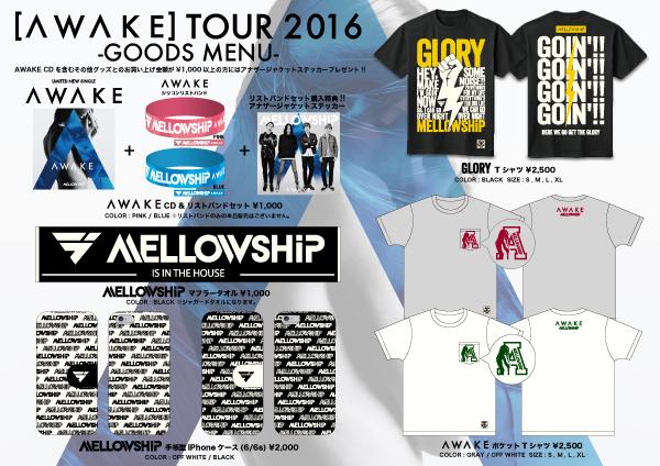 AWAKE-TOUR-グッズ